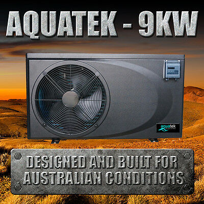 6.5/9KW Swimming Pool/Spa Heat Pump - COP 6 - Plugs Into Standard Power Point!