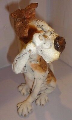 A BREED APART RASCAL DOG FIGURINE  Country Artists 05134 NEW FREE USA SHIPPING