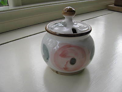 "ROBERT GORDON Pottery Sugar Bowl with Lid.""Orchard Blossom"".....  *A1 Condition"