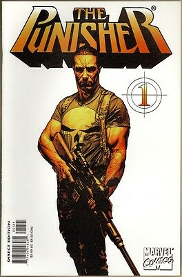 Punisher (12 Issue Ltd Series) #1 - VF- - Variant Cover