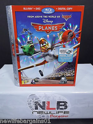 Disney PLANES Blu ray Slip Cover(Collector's Item)