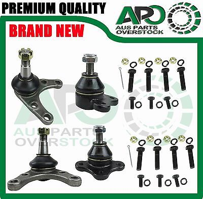 Front upper lower ball joints set fit Ford Courier PC PD PE PG PH 4WD 4X4 87-06