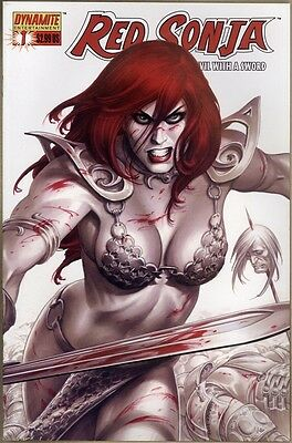 Red Sonja #1 - VF+ - Linsner Cover