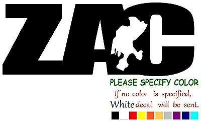 Vinyl Decal Sticker - ZACATECAS ZAC #2 Mexico State Map Car Truck Window 7""