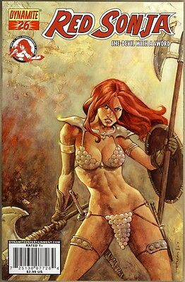 Red Sonja #26 - VF/NM - Homs Cover