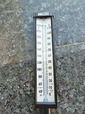 Weiss Instruments Thermometer  30 to 240F - A9VU35