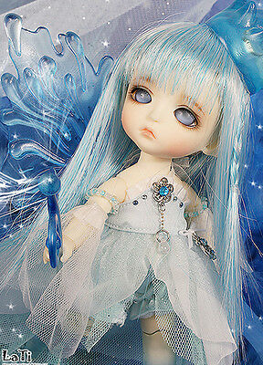 1/8 BJD doll SD Story of a Fairy Ver. Elf Lea BB FREE FACE MAKE UP+ EYES