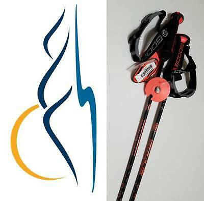 New Goode 2017 Pure Carbon Ski Poles All Colors Cut to length see description