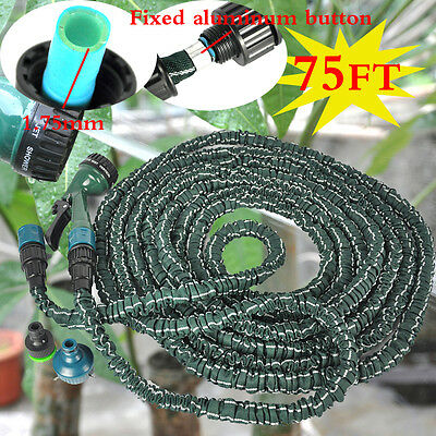 75FT Lawn Sprinklers Watering System Plant Drip Irrigation Kit Garden water Hose