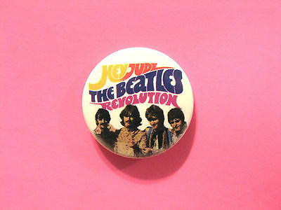 """New Official Beatles Button  Badge Pin Official Uk Made """" Hey Jude"""""""
