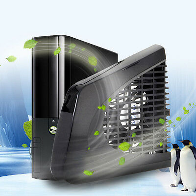 Newest USB Side Cooling Fan External Side Cool for Xbox 360 S Xbox 360 Slim BEST