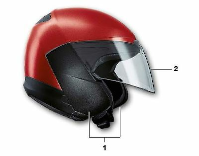 BMW System 5 Helmet Open Face Conversion - Side Pieces and Visor