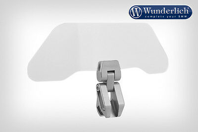 Wunderlich Vario ERGO Screen Extension Wind Deflector (Option: Clear or Tinted)