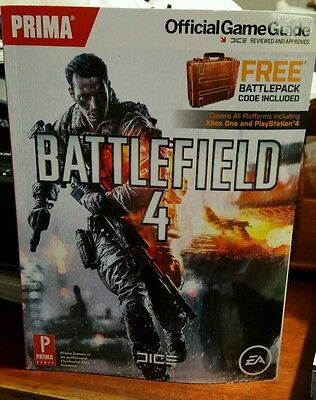 Battlefield 4 (BRAND NEW ) Official  PRIMA STRATEGY GUIDE - FAST POST