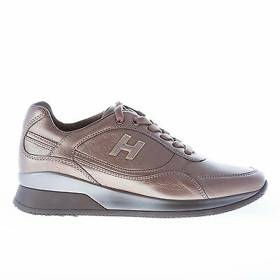 HOGAN scarpe donna women shoes Elective sneaker in pelle PALUDE