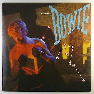 "12"" LP - David Bowie - Let's Dance - C1012 - washed & cleaned"