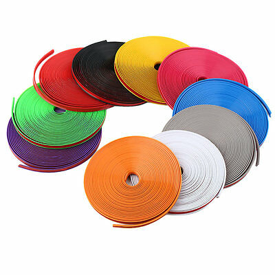 8m Care Protector Stickers Tire Wheel Hub Strip Protector For BMW Car Styling F7