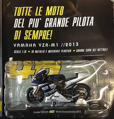Valentino Rossi Collection Yamaha Yzr-M1 / 2013 Scala 1:18