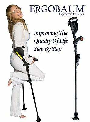 """Crutches- Latest Generation Ergobaum By Ergoactives. The """"Pain-free"""" Crutch"""