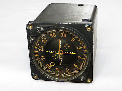 Soviet Russian Aircraft & Helicopter Cockpit Instrument Speed Indicator US-450