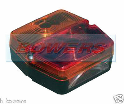 Sim 3166 12V/24V Square Rear Combination Tractor Trailer Board Tail Lamp Light