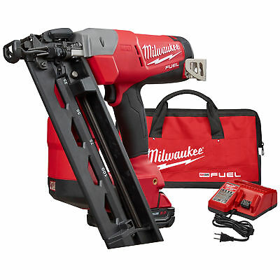 Milwaukee M18 FUEL 16ga Angled Finish Nailer Kit 2742-21CT New