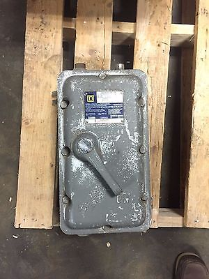 Square D Explosion Proof Enclosed Switch 60A 600V 3 Pole Cat. No. H60XFA -1212