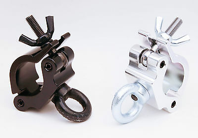 Truss clamp half with eye bolt ring (8 clamps) BLACK