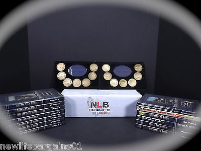 Dream Plan Build Collector's Series 14 Medallions with 14 Train Video Series DVD