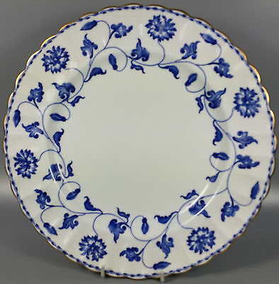 Spode Colonel (Blue) Y6235 Dinner Plate 27.5Cm