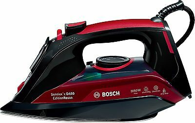 Bosch TDA5070GB Steam Iron 3050 W - Black/Red Iron Only