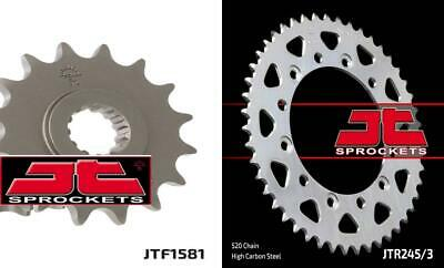 Front & Rear Sprocket Kit for YAMAHA YZF750 R-520 Chain Conversion 93-97