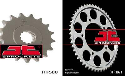 Front & Rear Sprocket Kit for YAMAHA YZF-R6-530 Chain Conversion 99-02