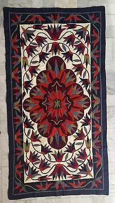 Huge Pharaonic Bedouin Egyptian Arabic cotton handmade quilt wall decor runner