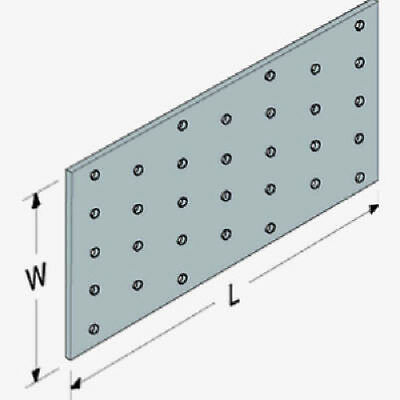 "100-PACK Truss Mending Plate G90, 3"" x 5"", Tie Plate SIMPSON STRONG TIE"