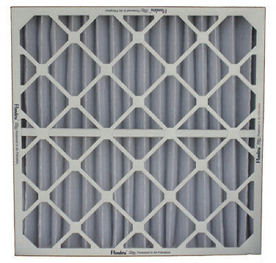 "16"" x 25"" x 2"" Flanders Furnace Air Filter, Pre-Pleat 40, MERV 8, Pack of 12"