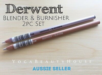*BackByDemand* DERWENT Blender & Burnisher Pencil Set colour craft art draw pen