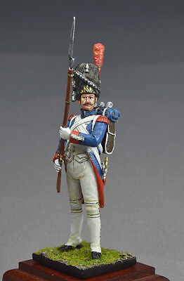 54mm metal painted toy soldier  Napoleonic Old Guard