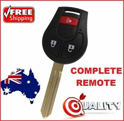 Complete Remote Key Nissan XTrail Key Ready for programming X trail Remote Car