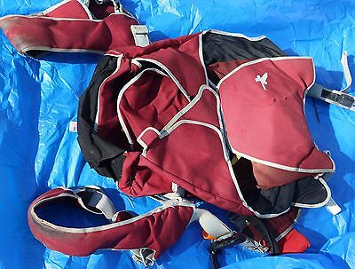 Strong EXPIRED tandem skydiving  parachute container + handles