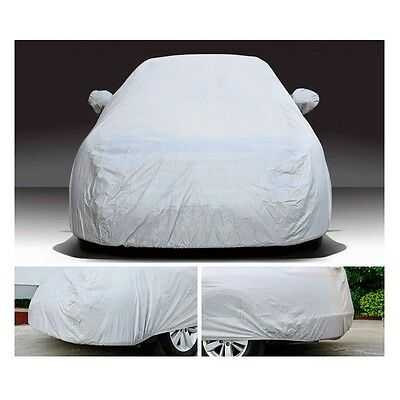 Full Car Cover Auto Waterproof Snow Dust Rain Resistant Protection For SUV XXL