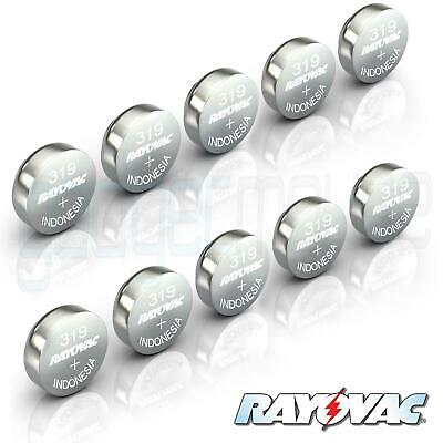 319 RAYOVAC Battery SR527SW Swiss Watch Cell Silver Oxide Hearing Aid 1.55V