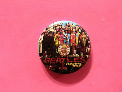 """New Official Beatles Button  Badge Pin Official Uk Made """"st.phcb"""""""