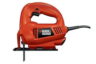 Jig Saw Black & Decker 400W 5 Blades Powerful Cutting Power Tools Hardware Clamp