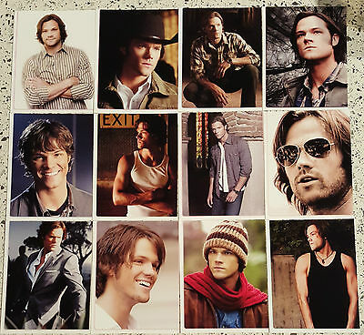Supernatural Sam Winchester 12 4/1-4 X 3/3-4 Inch  Photo's