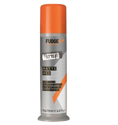 Fudge Matte Hed Firm Hold Texture Paste With Matte Finish 75 g
