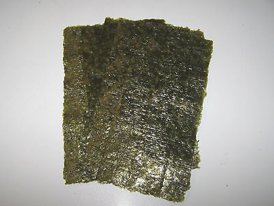 10 Sheets Dried Nori Seaweed - Marine Fish Food