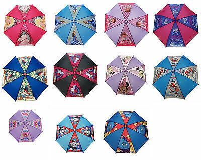 Disney Child Kids Umbrella Minnie Wooly Tig Doc Planes Barbie Thomas Peppa Pig