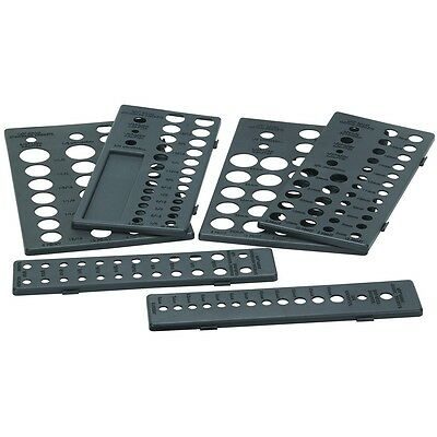 6 Pc Socket Drawer Organizers Organize up to 195 sockets in this socket drawer