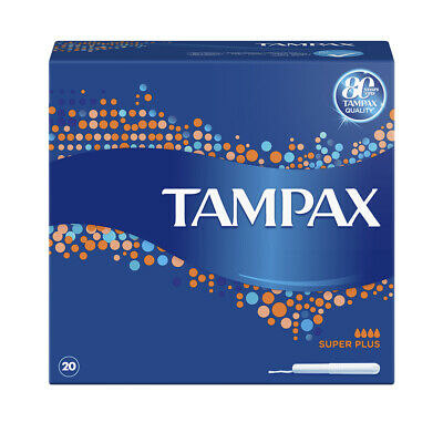 Tampax Blue Box Super, Super Plus